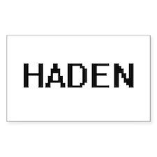 Haden Digital Name Design Decal