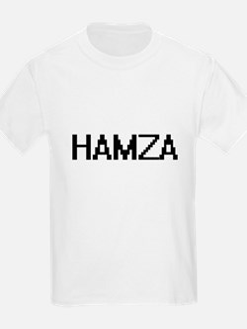 Hamza Digital Name Design T-Shirt