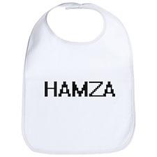 Hamza Digital Name Design Bib