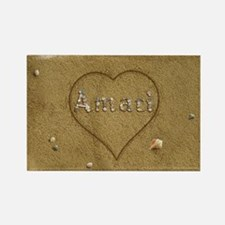 Amari Beach Love Rectangle Magnet