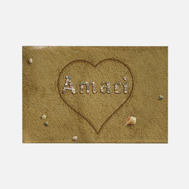 Amari Beach Love Rectangle Magnet