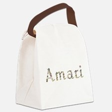 Amari Seashells Canvas Lunch Bag