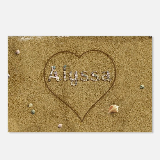 Alyssa Beach Love Postcards (Package of 8)