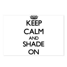Keep Calm and Shade ON Postcards (Package of 8)