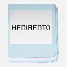 Heriberto Digital Name Design baby blanket