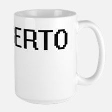 Heriberto Digital Name Design Mugs