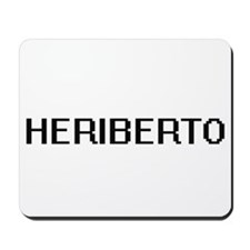 Heriberto Digital Name Design Mousepad