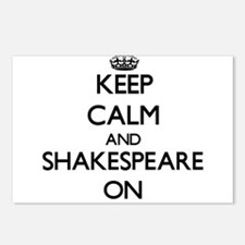Keep Calm and Shakespeare Postcards (Package of 8)