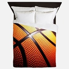 Basketball Ball Queen Duvet