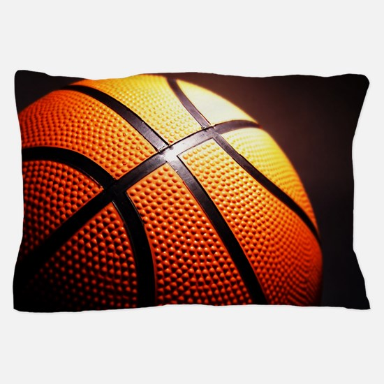 Basketball Ball Pillow Case