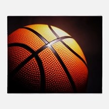 Basketball Ball Throw Blanket