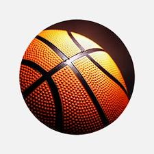 """Basketball Ball 3.5"""" Button (100 pack)"""