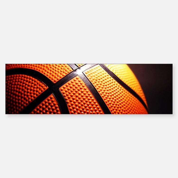 Basketball Ball Bumper Bumper Bumper Sticker