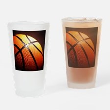 Basketball Ball Drinking Glass