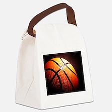 Basketball Ball Canvas Lunch Bag