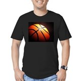 Basketball Fitted T-shirts (Dark)