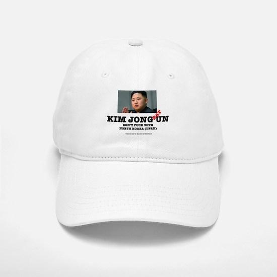 KIM JOHN FAT UN - DPRK Baseball Baseball Cap