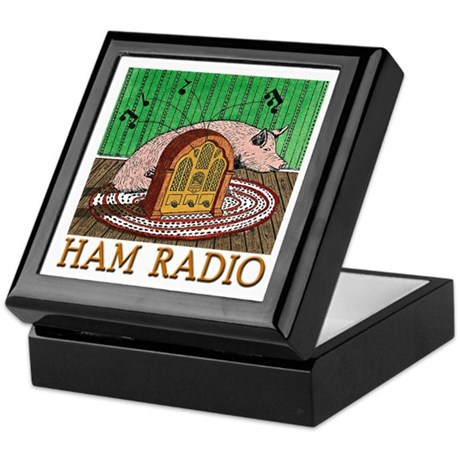 """HAM RADIO"" Keepsake Box"