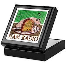 """""""HAM RADIO"""" Keepsake Box"""
