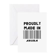 Proud Arubain Greeting Card