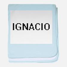 Ignacio Digital Name Design baby blanket