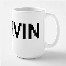 Irvin Digital Name Design Mugs