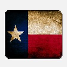 Vintage Flag of Texas Mousepad