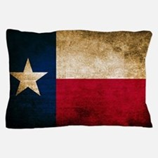 Vintage Flag of Texas Pillow Case