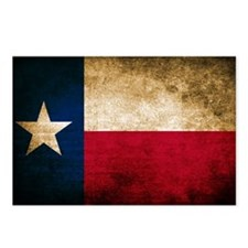 Vintage Flag of Texas Postcards (Package of 8)