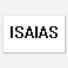 Isaias Digital Name Design Decal