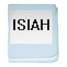 Isiah Digital Name Design baby blanket