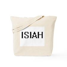 Isiah Digital Name Design Tote Bag