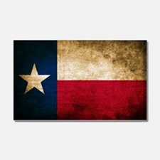 Vintage Flag of Texas Car Magnet 20 x 12