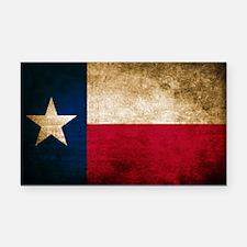 Vintage Flag of Texas Rectangle Car Magnet