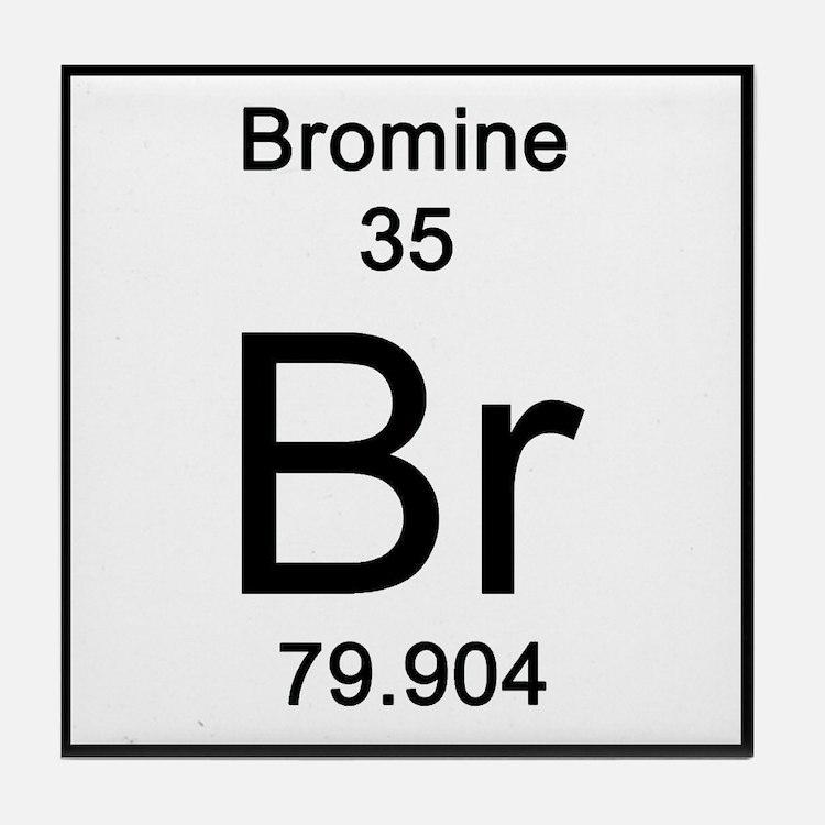 35. Bromine Tile Coaster