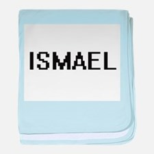 Ismael Digital Name Design baby blanket