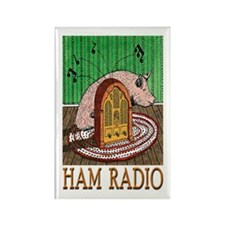 """HAM RADIO"" Rectangle Magnet"