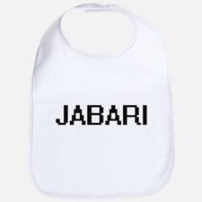 Jabari Digital Name Design Bib