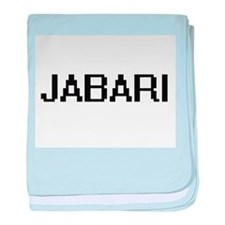 Jabari Digital Name Design baby blanket