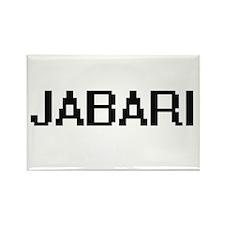 Jabari Digital Name Design Magnets
