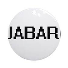 Jabari Digital Name Design Ornament (Round)