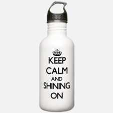 Keep Calm and Shining Water Bottle