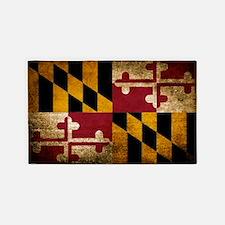 Unique Maryland flag Area Rug
