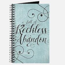 Full Of Reckless Abandon Journal