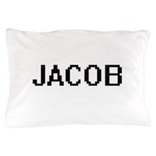 Jacob Digital Name Design Pillow Case