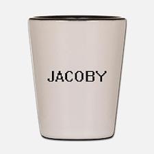 Jacoby Digital Name Design Shot Glass