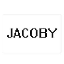 Jacoby Digital Name Desig Postcards (Package of 8)