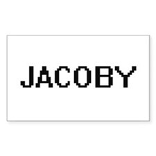 Jacoby Digital Name Design Decal
