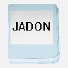 Jadon Digital Name Design baby blanket