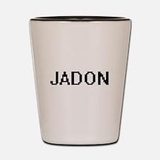 Jadon Digital Name Design Shot Glass